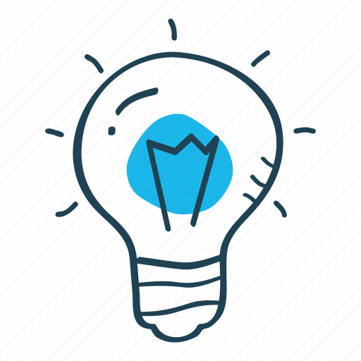 concept, idea, innovation, light bulb, productivity icon
