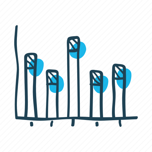 analytic, chart, economic, graph, research, statistics, summary icon
