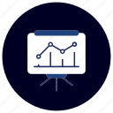 business, chart, ecommerce, finance, graph, marketing, presentation icon