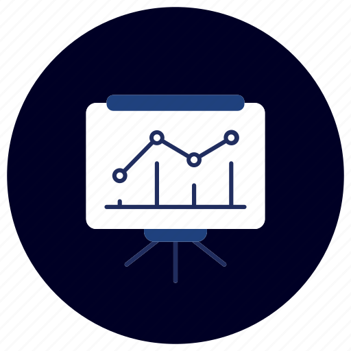 business, chart, ecommerce, finance, graph, marketing, presentation icon