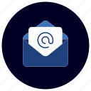 attachment, business, ecommerce, email, finance, marketing, message icon
