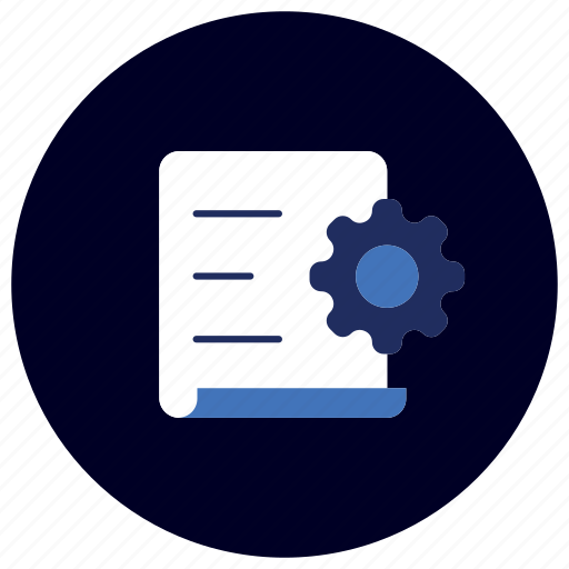 business, content, document, ecommerce, finance, marketing, setting icon