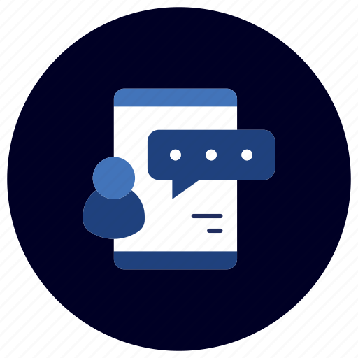 business, chat, ecommerce, finance, marketing, mobile, review icon