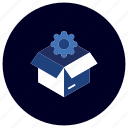 box, business, ecommerce, finance, idea, marketing, problem solving icon