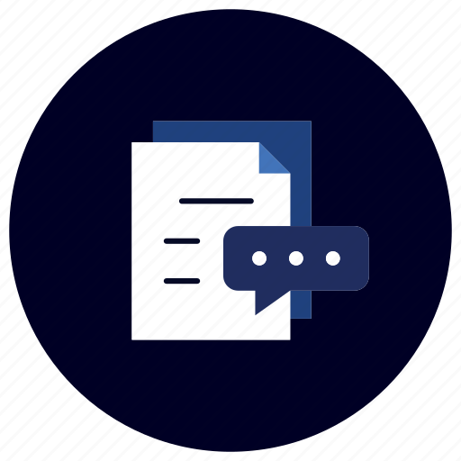business, content, document, ecommerce, finance, marketing, review icon