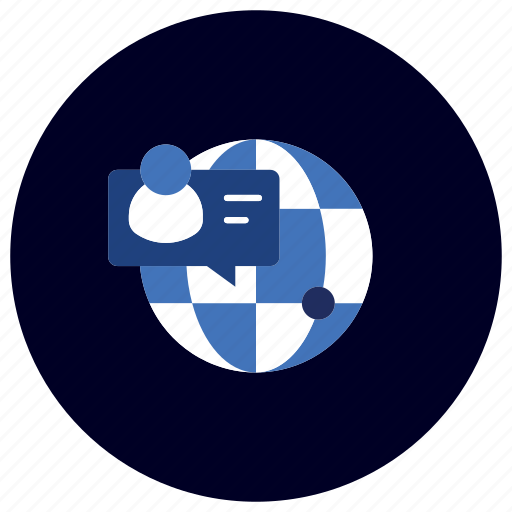 business, chat, ecommerce, finance, marketing, online, support icon