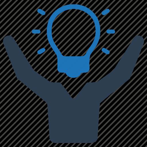brainstorming, business, creative idea, solution icon