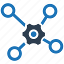 network, support, teamwork icon