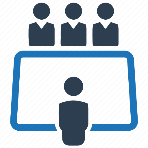 business, conference, discussion, meeting icon