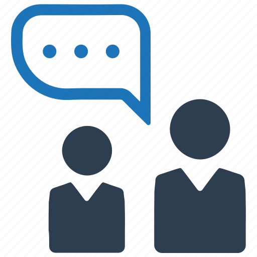 business, conversation, discussion, talk icon