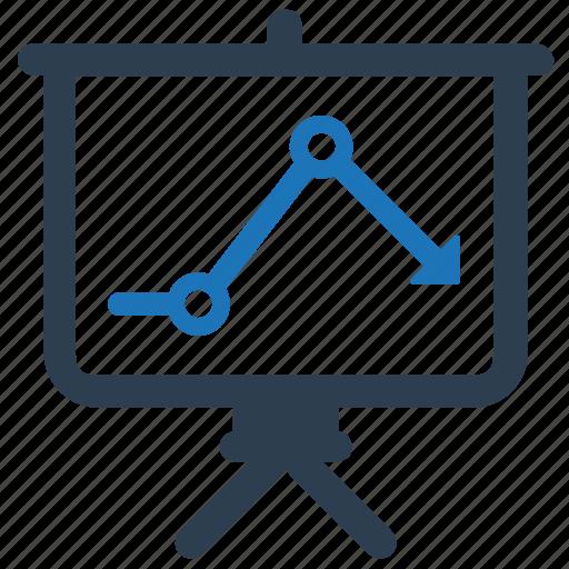 analysis, analytics, graph, presentation icon