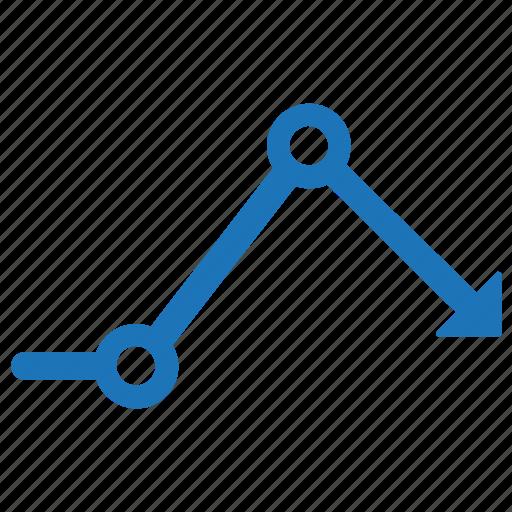 analysis, data, financial graph icon