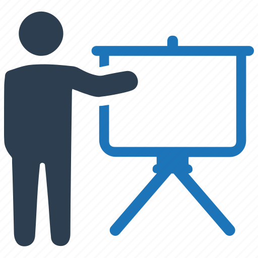 lecture, presentation, teacher icon
