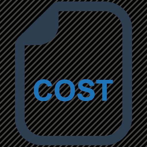 billing, cost, invoice, statement icon