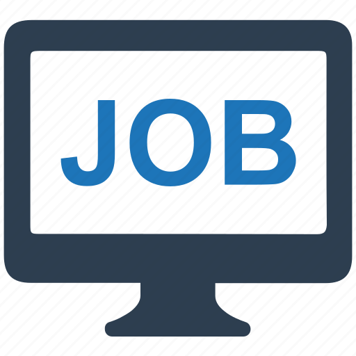 career, job, online, search icon