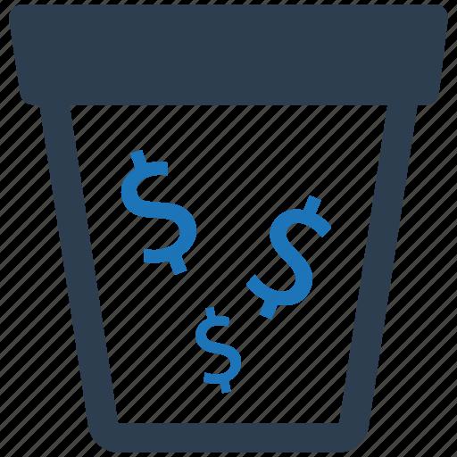 Capital, money waste, waste icon - Download on Iconfinder