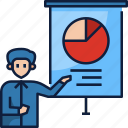presentation, business, graph, chart, board, analytics, businessman