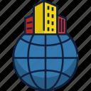 company, multinational company, building, office, international, property, business