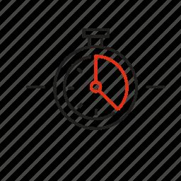 implementation, leader, management, time, timeframe icon