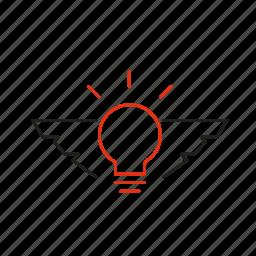 experience, idea, innovation, inspiration, skill icon