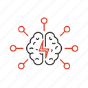 brainstorming, capability, human, idea, mentality, mind, resource icon