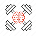 advancement, brain, capability, development, expert, inducement, training icon