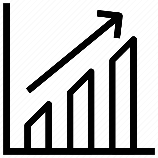 bar chart, business chart, business growth, graph, progress, stats icon