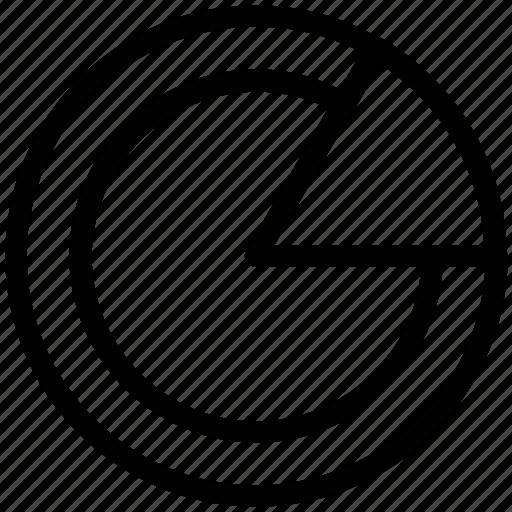 business chart, chart, circle chart, circle graph, graph, pie chart icon