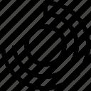 circle chart, circle graph, graph, infographic, layout chart icon