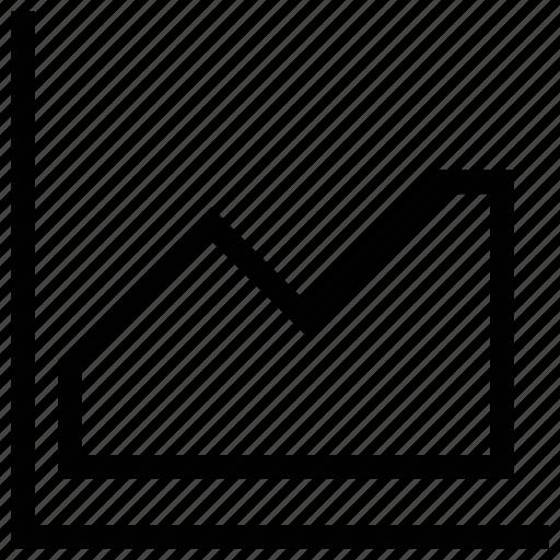 graph, stock market, stock market chart, stock market graph, zigzag chart icon
