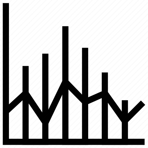 bar chart, bar graph, bars graphic, business evaluation, financial chart, statistics icon