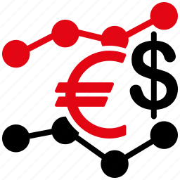 business, currency, finance, financial, market, money, trends icon