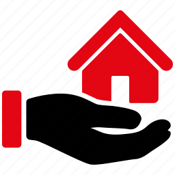 building, home, house, offer, property, realty, service icon