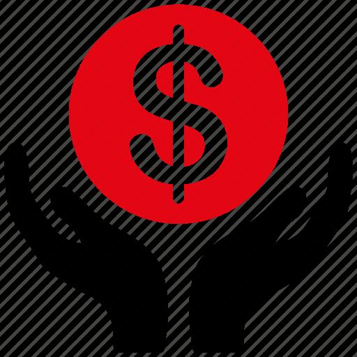 cash, church, dollar, finance, money, pray, religion icon