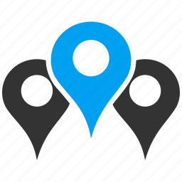 gps, location, map flag, markers, navigation, pin, pointer icon