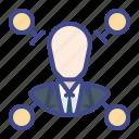business, level, model, multilevel icon