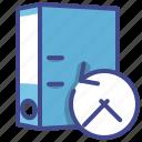 folder, history, office, transaction