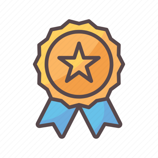 achievement, award, business, reward, star icon