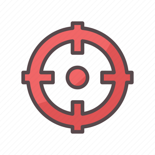 aim shot target business icon download on iconfinder aim shot target business icon download on iconfinder