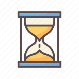 business, deadline, sand, sandtime icon