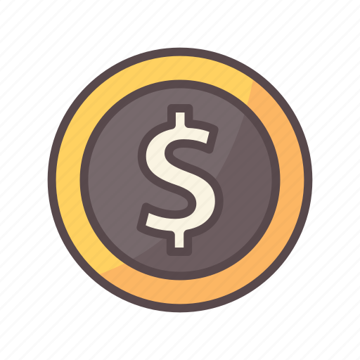 business, coin, dollar, economy, finance, financial, money icon