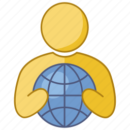 business, company, firm, global, international, market, multinational icon