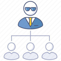 business, company, hierarchy, human, management, order, resources icon