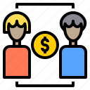 business, connection, money, plan, schedule, shopping, social icon