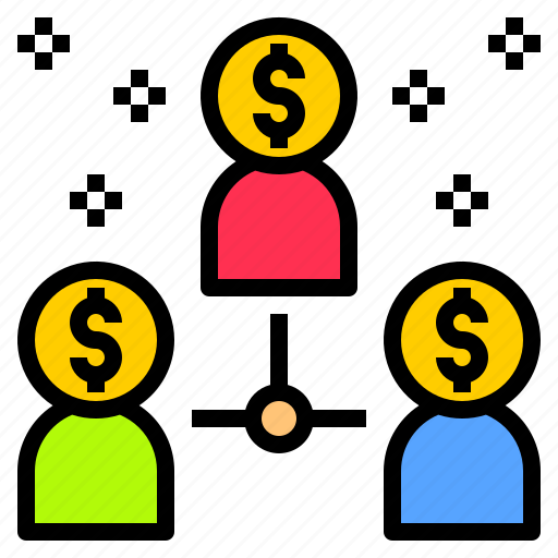 business, money, plan, schedule, share, shopping, social icon