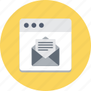 email, email marketing, social communication, social media, social network icon