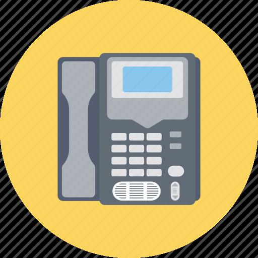 call, contact us, helpline, landline, telephone icon