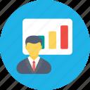 business analysis, business analyst, business graph, graphic presentation, statistics