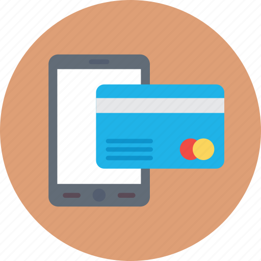 credit card, e banking, mcommerce, mobile banking, online payment icon