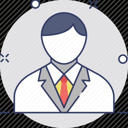 administrator, business person, businessman, entrepreneur, leader icon